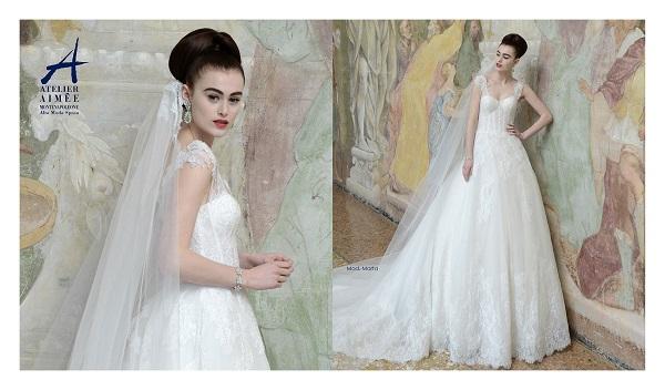 ee2d6138ed0a0 Modelli romantici e raffinati ideali per le spose che privilegiano